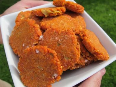(Wheat-Free) Broccoli Tomato Chicken Dog Treat/Biscuit Recipe