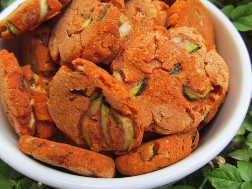 (wheat and gluten-free) zucchini parmesan dog treat/biscuit recipe