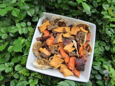 (wheat, grain, gluten and dairy-free) liver & sweet potato trail mix dog treat recipe