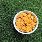 (wheat and gluten-free) cheesy sweet potato dog treat/biscuit recipe