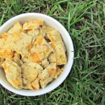 (wheat, gluten and dairy-free) mint cantaloupe chicken dog treat/biscuit recipe