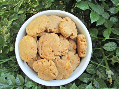(wheat and dairy-free, vegan, vegetarian) peanut butter carrot dog treat/biscuit recipe(wheat and dairy-free, vegan, vegetarian) peanut butter carrot dog treat/biscuit recipe