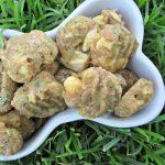 (wheat-free) cucumber parmesan chicken dog treat/biscuit recipe