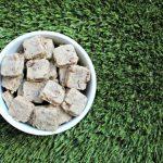 (wheat and gluten-free) goat cheese & turkey dog treat/biscuit recipe