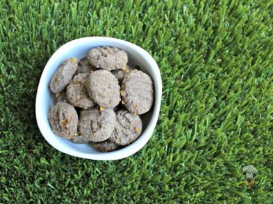 (grain, gluten and wheat-free) apple cheddar basil dog treat/biscuit recipe