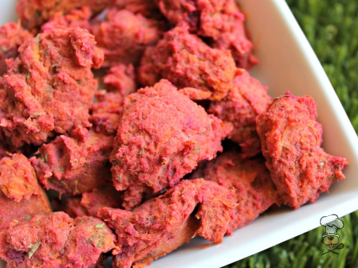 (gluten, wheat and dairy-free, vegan, vegetarian) beets and sweets (potato) dog treat/biscuit recipe
