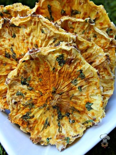 (grain, gluten, wheat and dairy-free, vegan, vegetarian) cilantro pineapple chews dog treat recipe