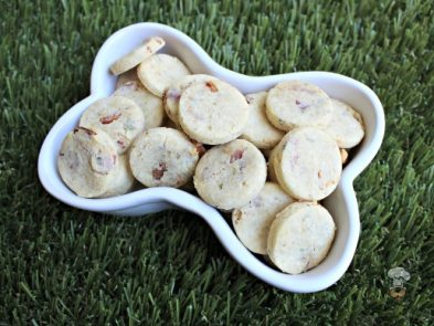 (gluten and wheat-free) parmesan parsley bacon dog treat/biscuit recipe