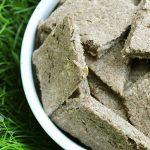 (grain. gluten, wheat and dairy-free) ginger apple turkey dog treat/biscuit recipe