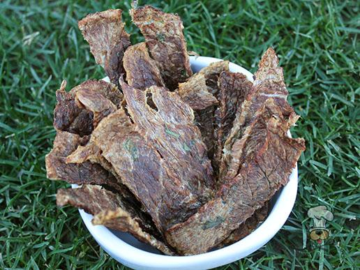 (grain. gluten, wheat and dairy-free) pineapple beef jerky dog treat recipe