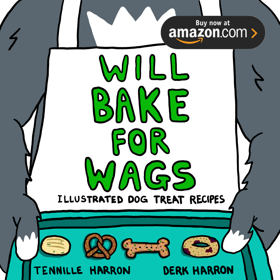Link to Amazon to purchase Will Bake for Wags