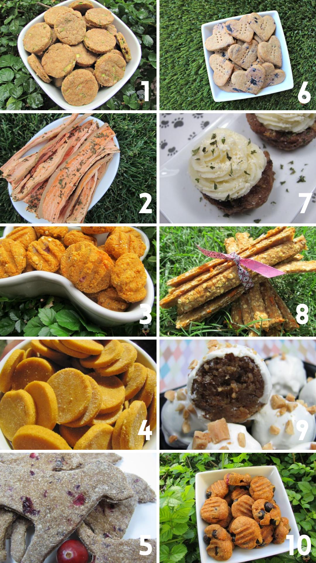 Doggy Dessert Chef's top ten treats