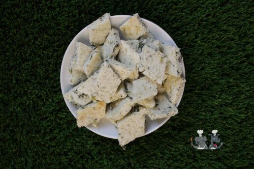 cheesy collard greens dog treat recipe