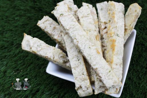 parmesan herb chicken biscotti dog treat recipe