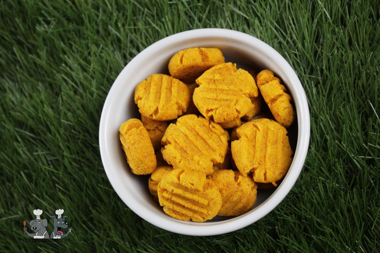 pumpkin parmesan dog treat recipe