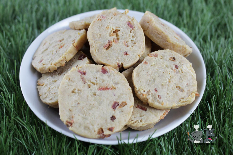 bacon & cream cheese chicken dog treat recipe