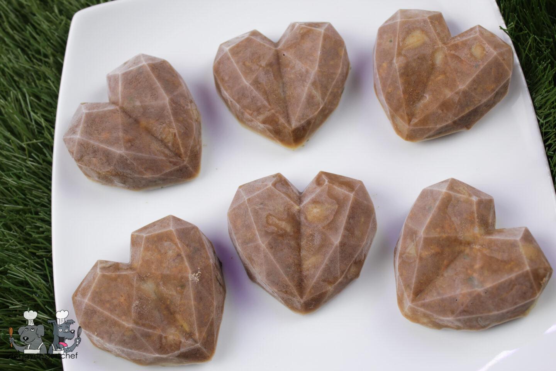frozen chicken liver pear dog treat recipe