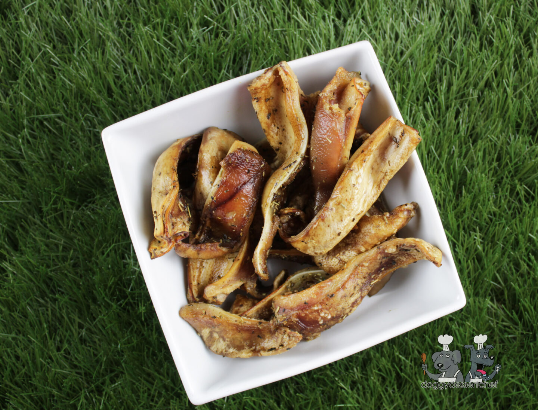 air-fried pig ears dog treat recipe