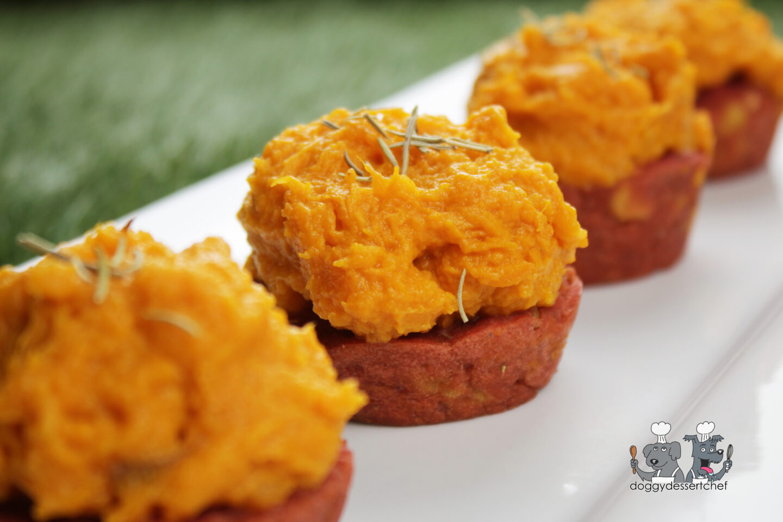 sweets & beets dog pupcake recipe