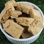 chicken peanut butter mini-biscotti dog treat recipe