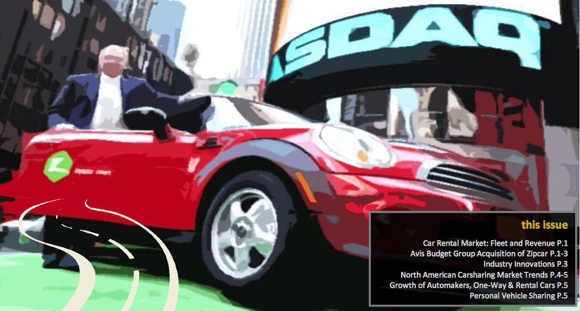 Innovative Mobility Carsharing Outlook: Carsharing Market Overview, Analysis, and Trends – Summer 2013 (TSRC)