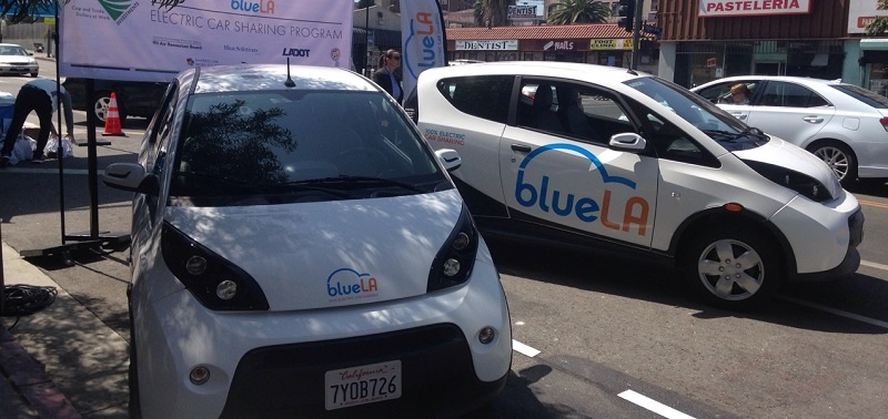 "LA Officials Cut Ribbon on ""BlueLA"" Electric Carsharing Pilot Serving Disadvantaged Communities"