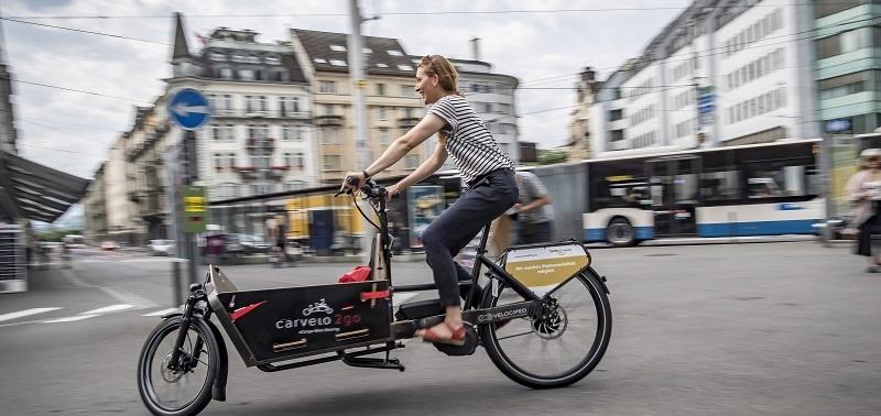 The Cargo Bikesharing Pilot Serving 19 Swiss Cities