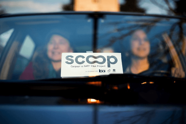 Carpooling in California: My experience taking Scoop to BART