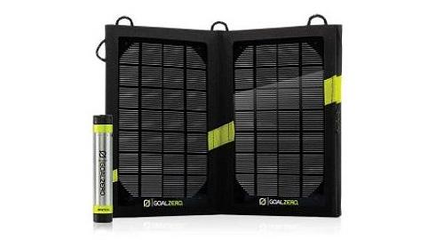 Goal Zero Switch 8 & Nomad 7 Solar Kit