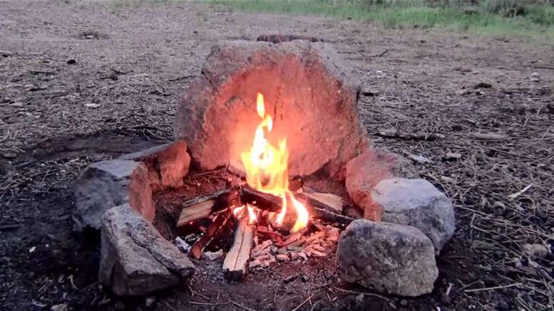 build a smokeless campfire