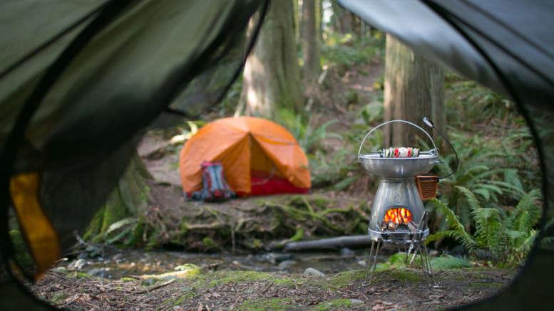 The Biolite Base Camp Stove Review