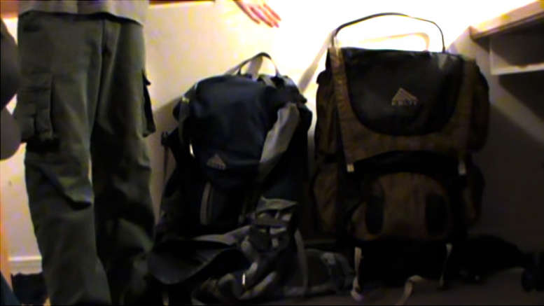 Internal vs external frame backpacks