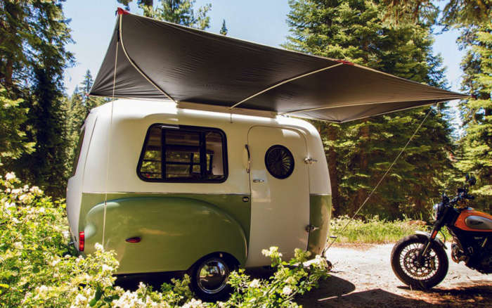 mini camping trailers