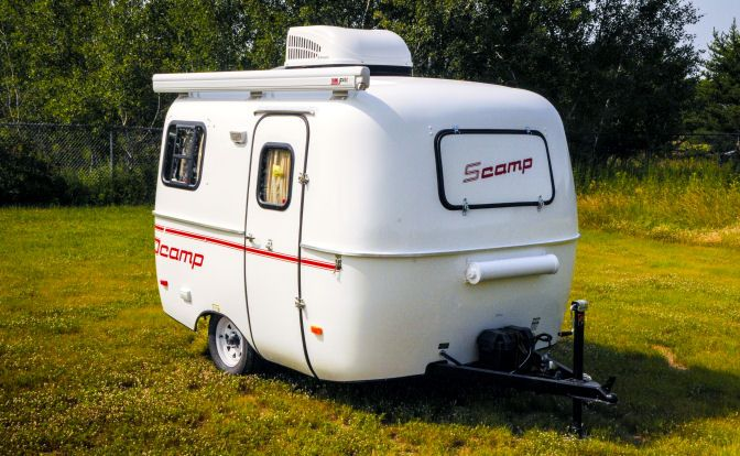 mini camper trailer