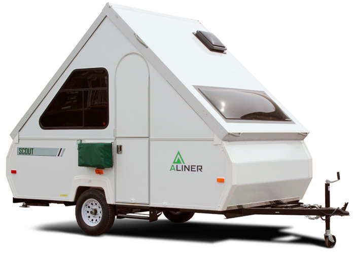 aliner scout mini trailer camping