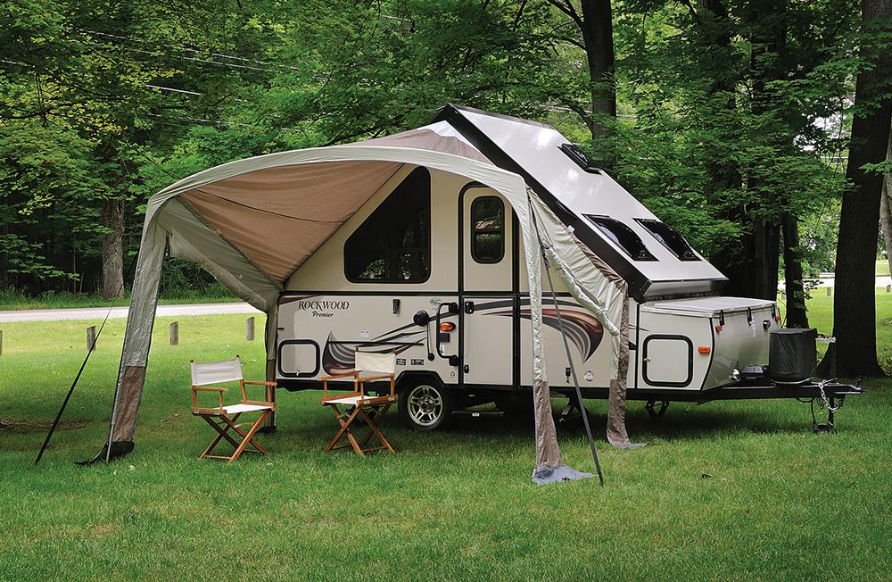 rockwood a frame camper