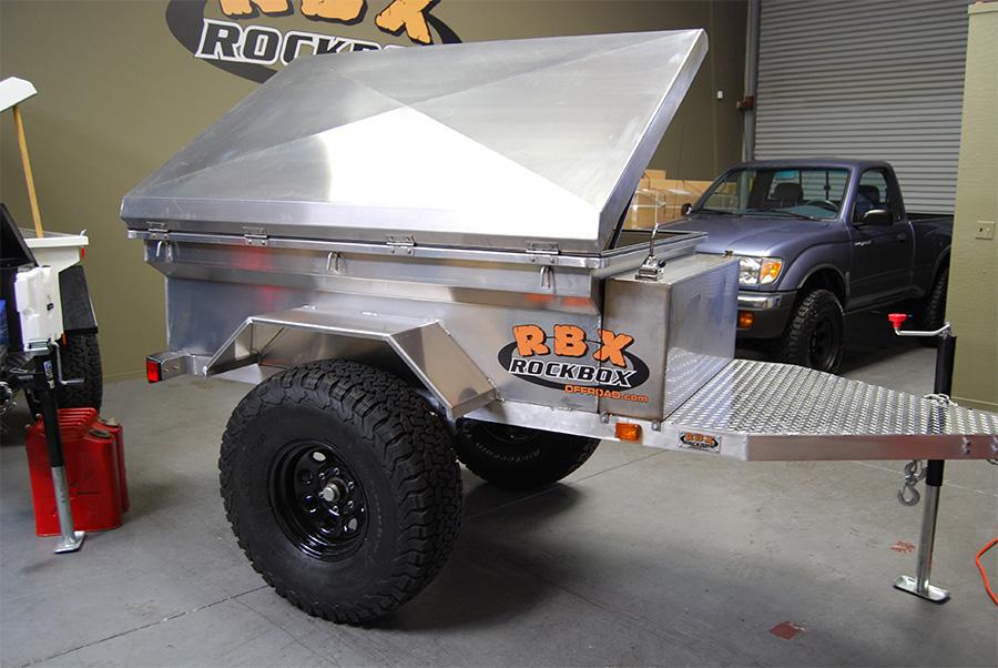rockbox aluminum trailer offroad