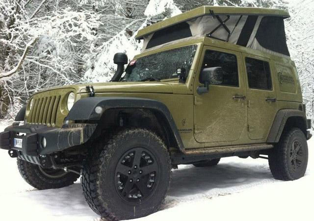 j30 jeep camper pop up