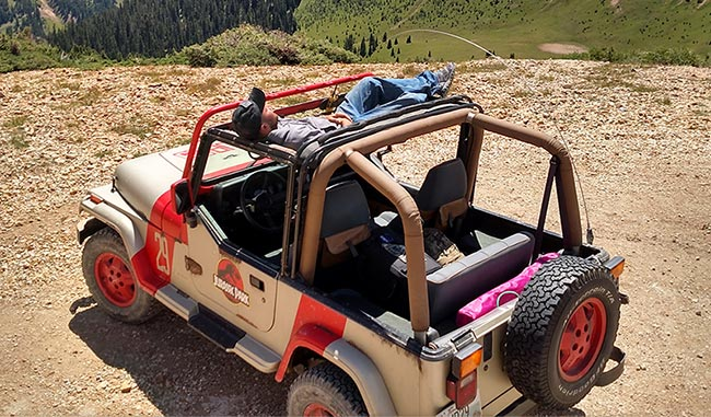jeep hammock for camping