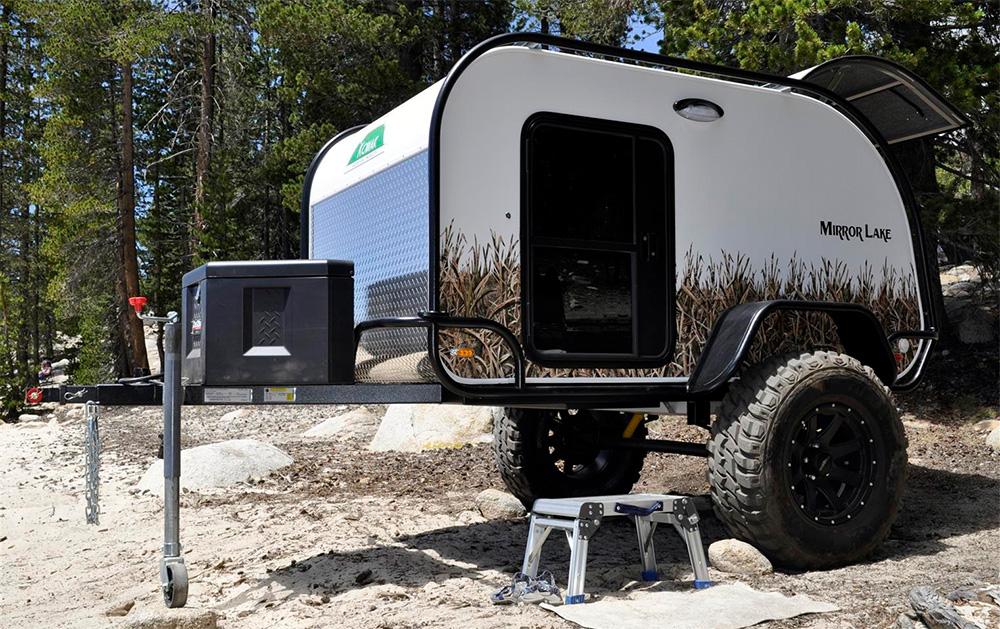 Extreme Teardrops Mirror Lake Summit Camp