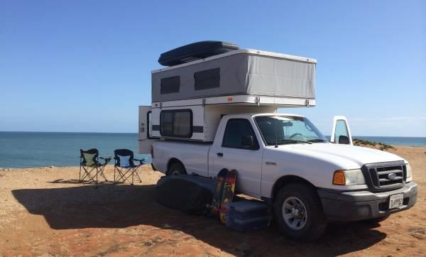 four wheel camper ford ranger