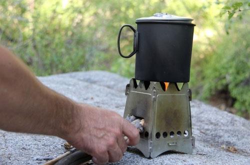 emberlit backpacking wood stove