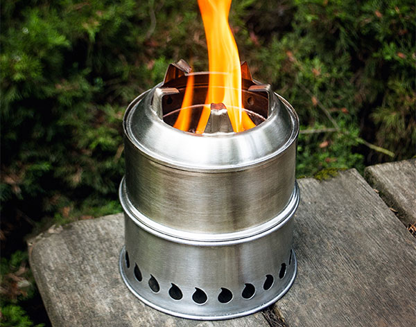 silverfire scout wood stove 304ss