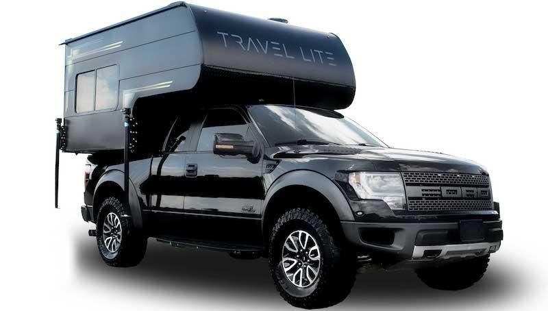 super lite truck camper on ford f150