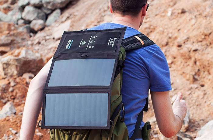 anker 15 watt solar charger usb