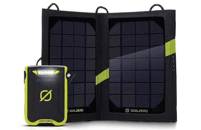 venture 30 goal zero solar charger