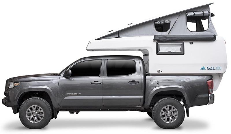 tacoma gzl 300 camper
