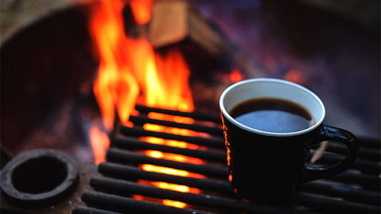 coffee maker camping