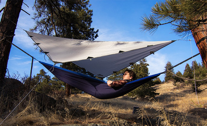 rolling fox tarp shelter