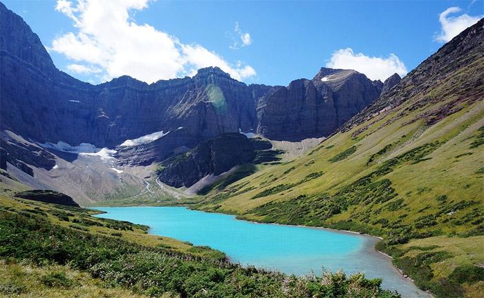 montana's beaten path trail glacier lake